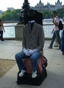 Headless Man!, Southbank, London